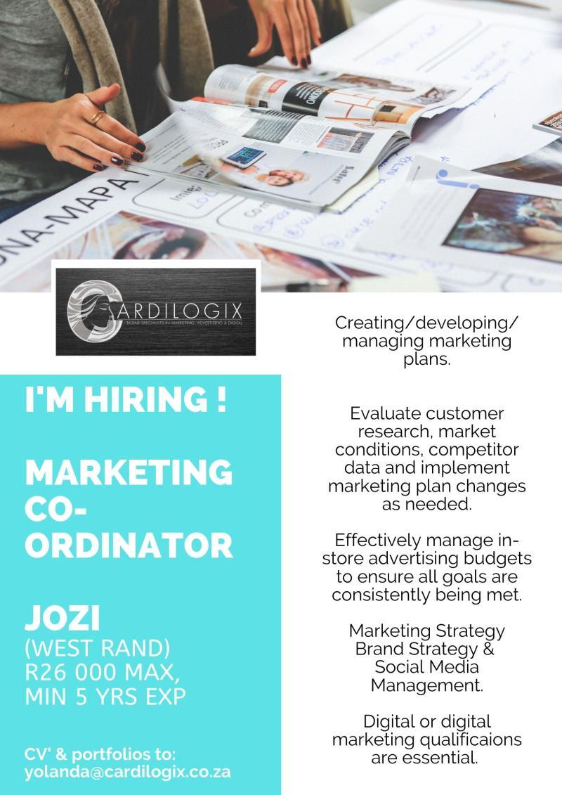Marketing Co-Ordinator_Cardilogix