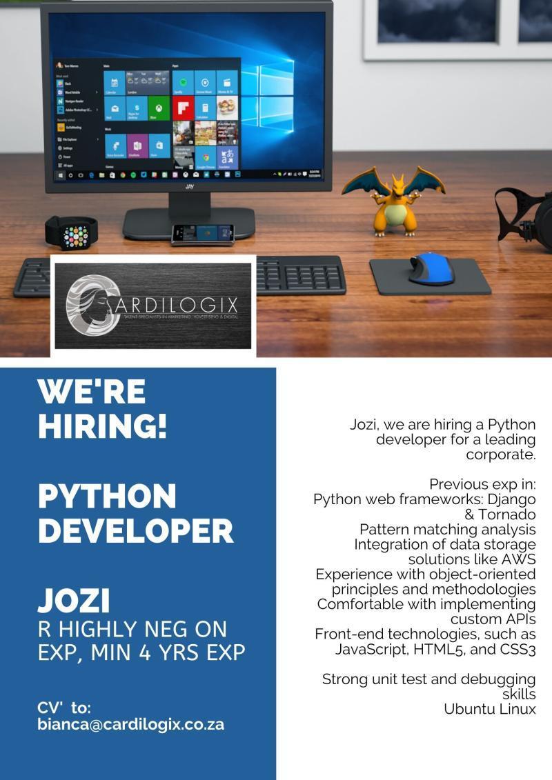 Python Developer_Cardilogix