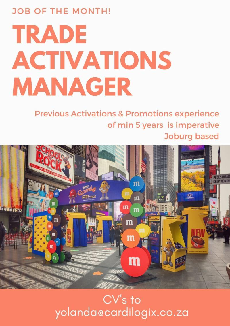 Trade Activations Manager