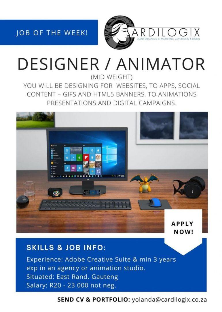 Designer and Animator