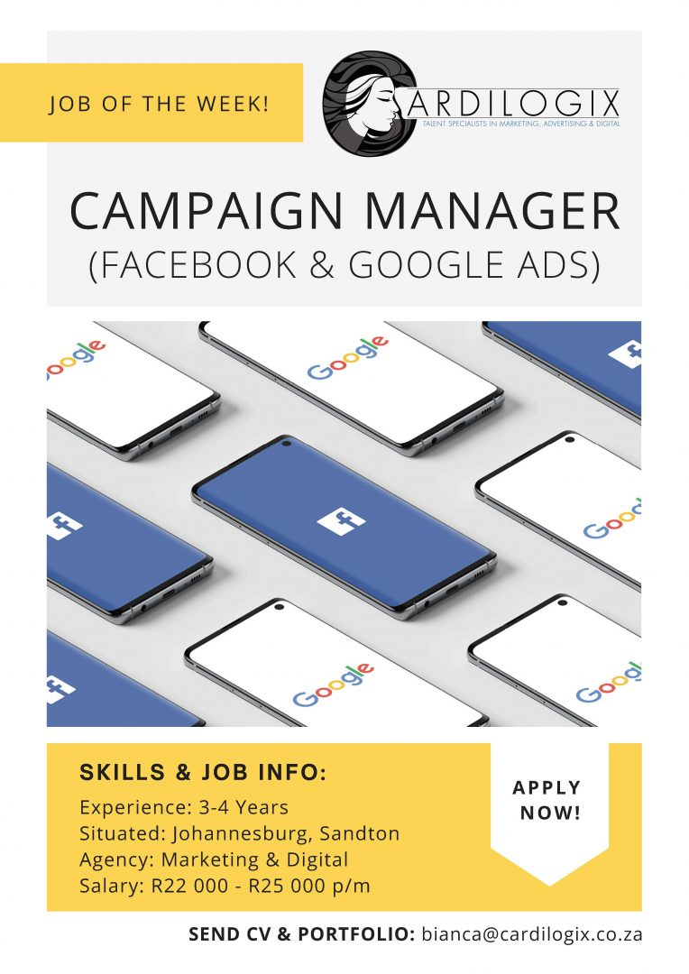 Facebook & AdWords Campaign Manager