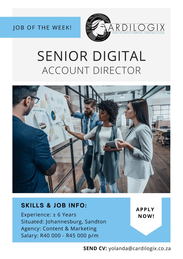 Senior Digital Account Director