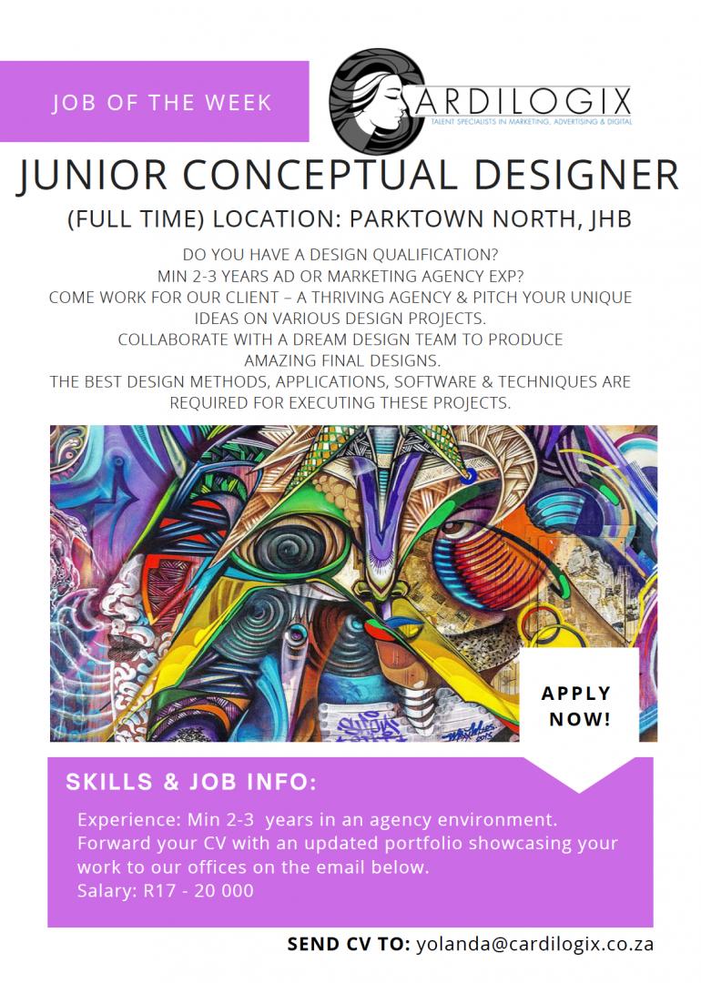 Junior Conceptual Designer