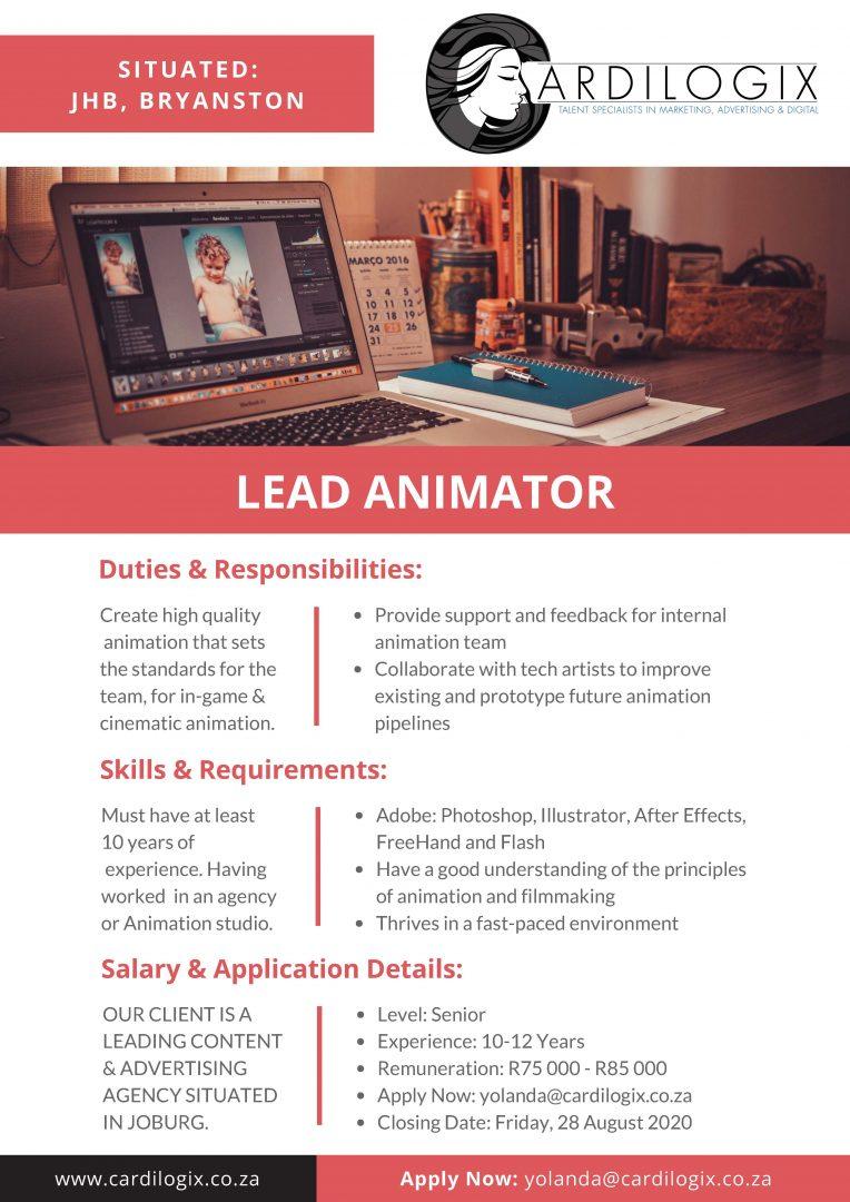 Lead Animator
