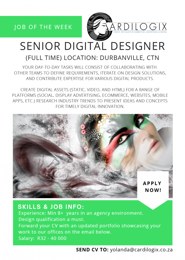 Senior Digital Designer_Cape Town