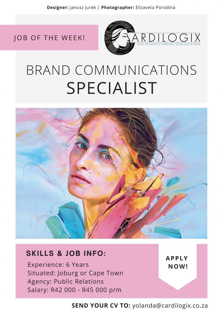 Brand Communications Specialist