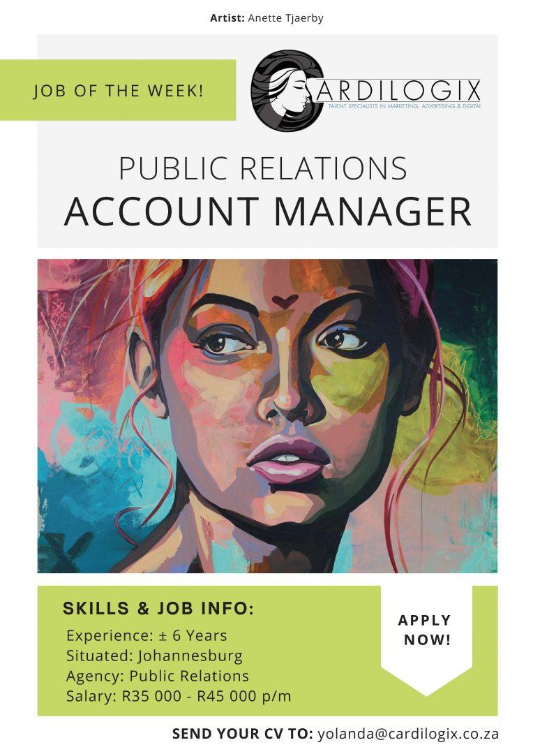 Senior PR Account Manager