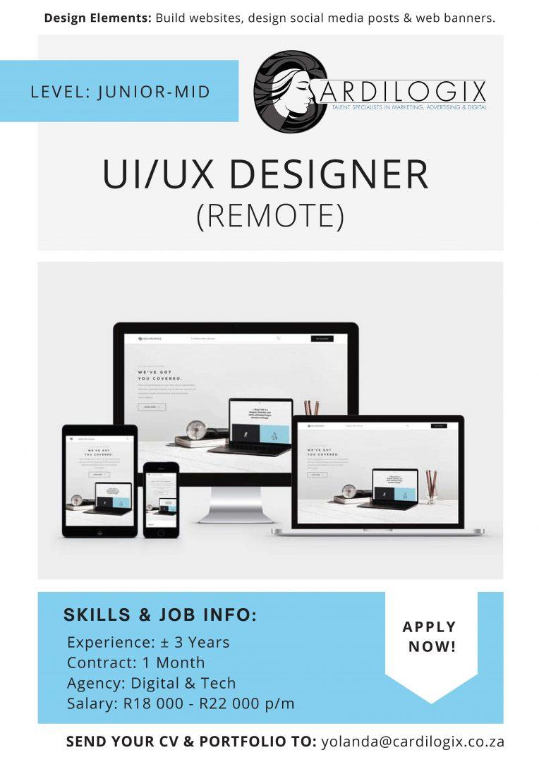UI:UX Designer
