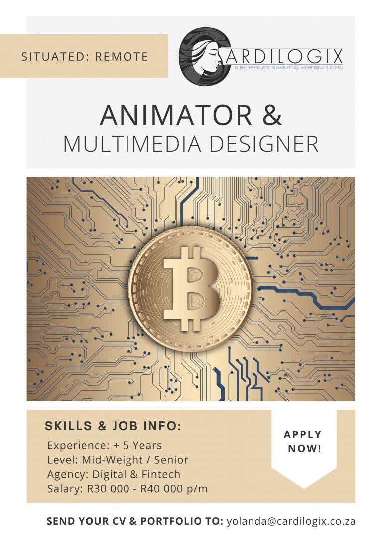 Animator & Multimedia Designer