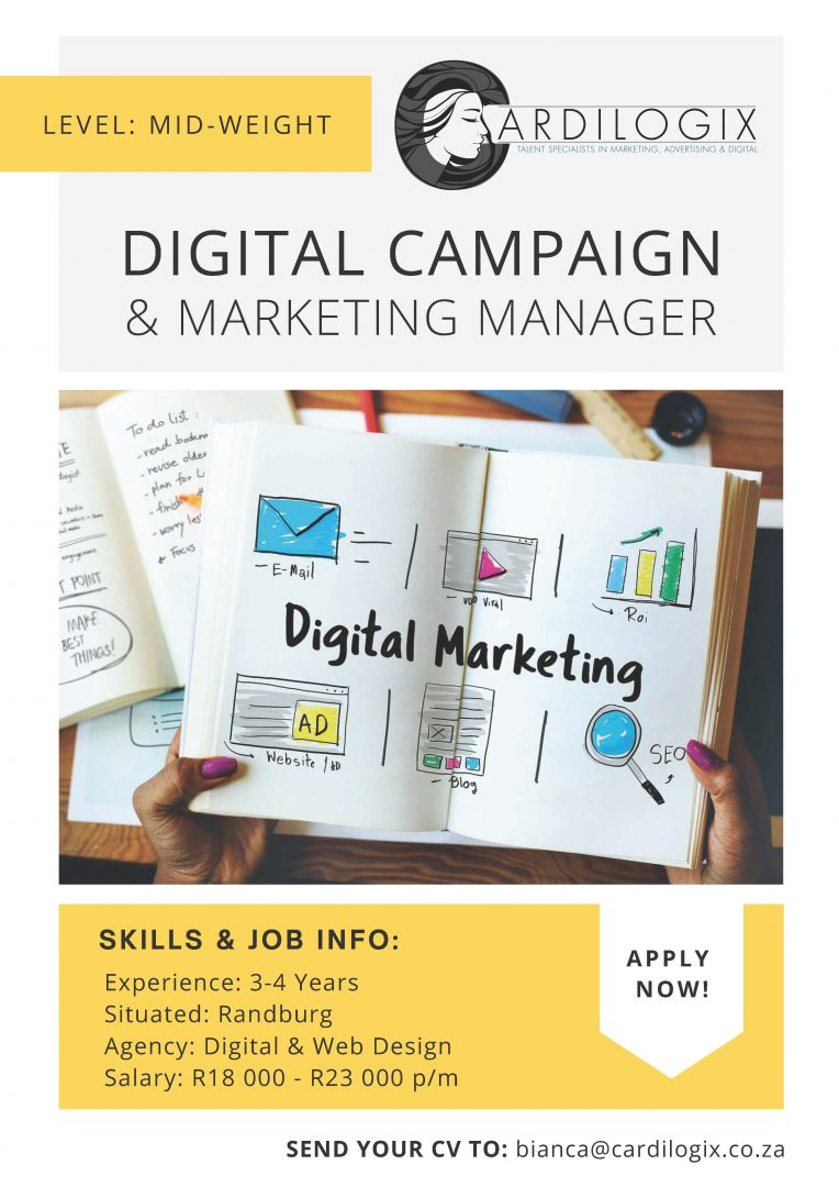 Digital Campaign & Marketing Manager