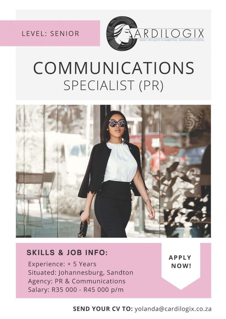PR Communications Specialist
