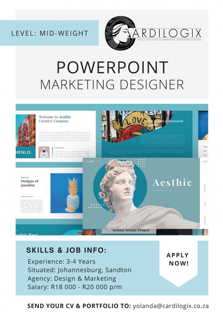 PowerPoint Marketing Designer