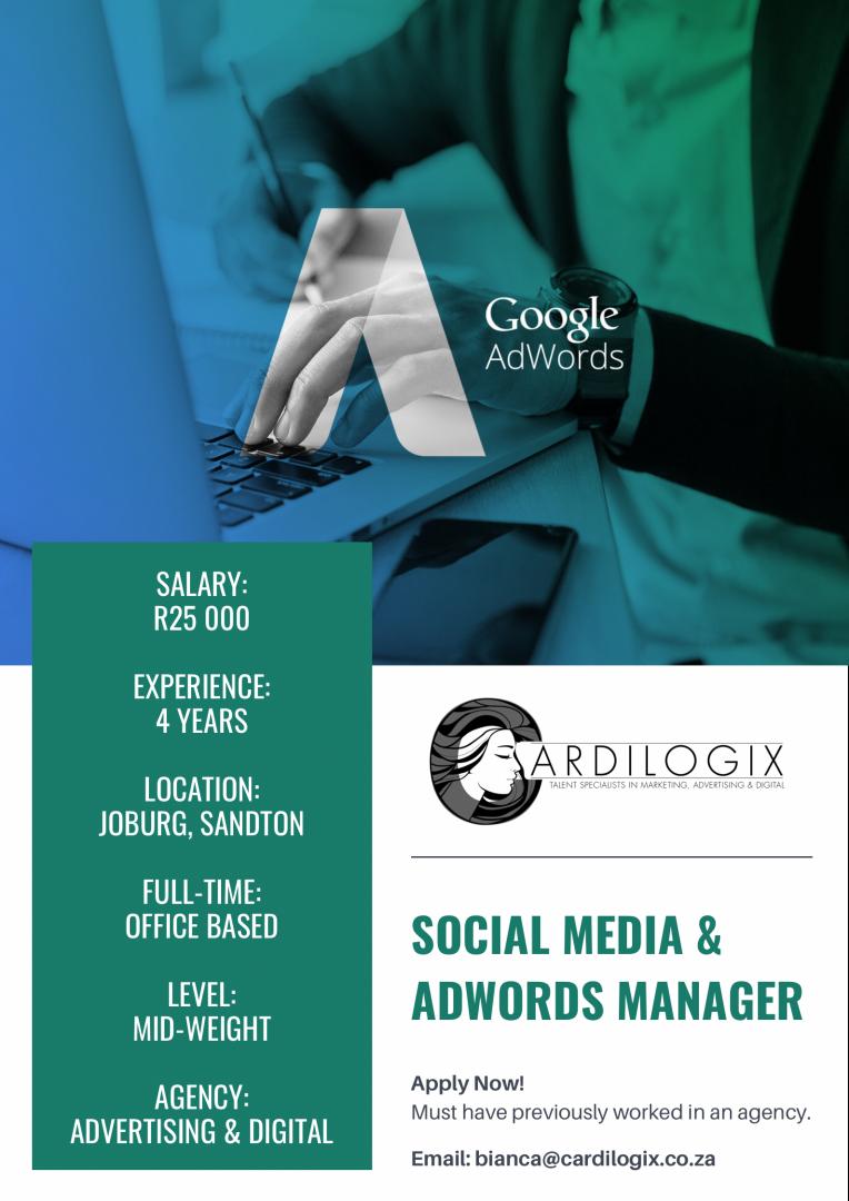 Social Media & AdWords Manager