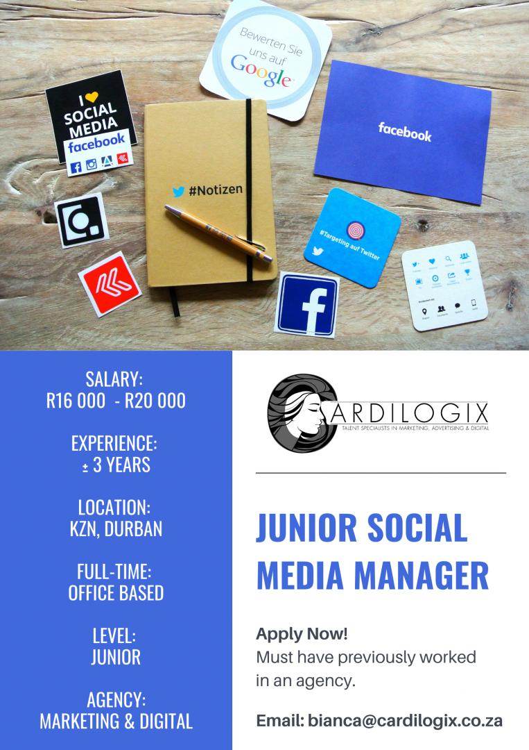Junior Social Media Manager