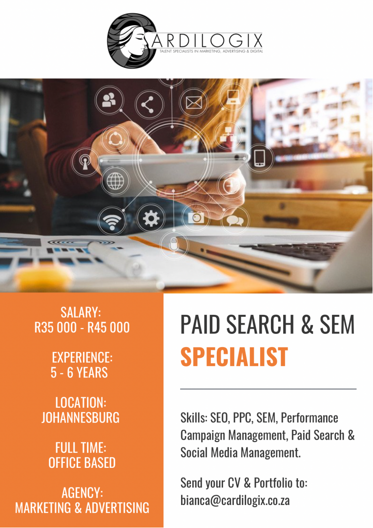 Paid Search & SEM Specialist